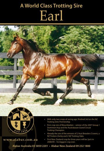 A World Class Trotting Sire - Harnesslink