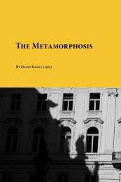 The Metamorphosis By Franz Kafka (1915)