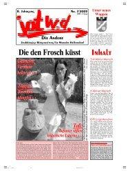 ganze Ausgabe - Jotwede-online.de