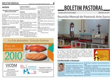 boletim_pastoral_set.. - Arquidiocese de Goiânia