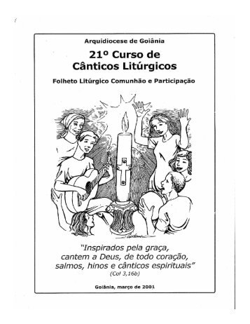 (Microsoft PowerPoint - Apresenta\347\343o1) - Arquidiocese de ...
