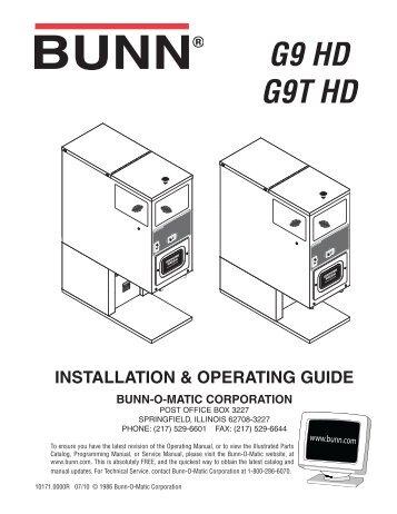 u3 sru installation operating guide bunn o matic expert cm rh yumpu com Yamaha U3 Piano U3- X