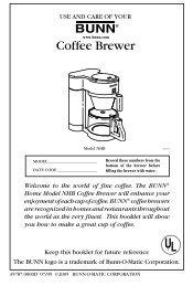 Coffee Brewer - Expert-CM