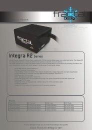 Integra R2 Series - Fractal Design