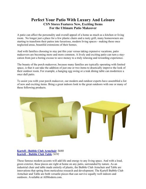 Superb Perfect Your Patio With Luxury And Leisure Gmtry Best Dining Table And Chair Ideas Images Gmtryco
