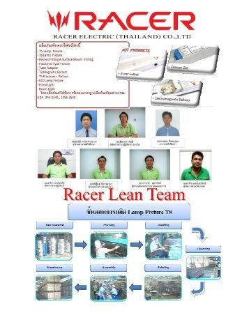 RACER ELECTRIC (THAILAND) CO.,LTD - LEAN