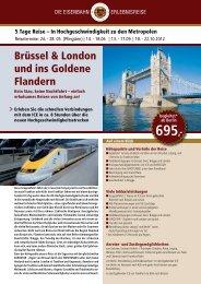 Brüssel & London und ins Goldene Flandern - Leserreisen - Berliner ...