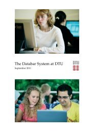 The Databar System at DTU - G-Bar Wiki - DTU