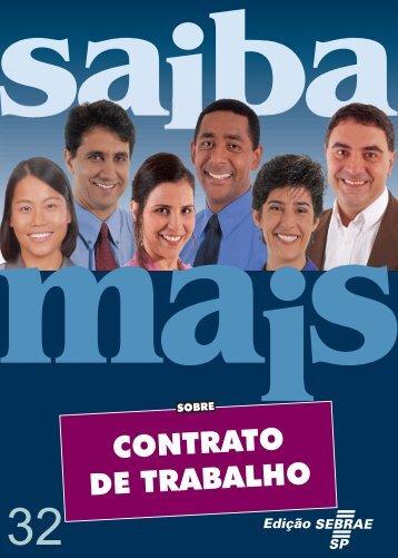 CONTRATO DE TRABALHO - Sebrae SP