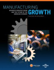 Manufacturing Growth - The Breakthrough Institute