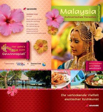 Rezepte Malaysia - Aramark