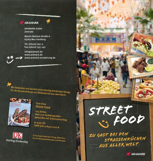 Rezepte Street Food - Aramark