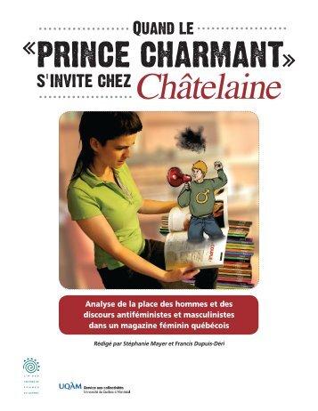 Quand le «prince charmant» s'invite chez Châtelaine : analyse de la ...