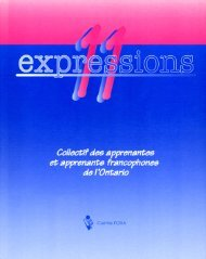 Expressions 11 - Centre FORA