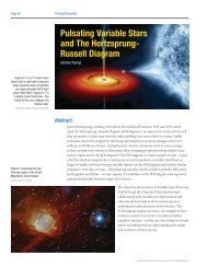 Pulsating Variable Stars and The Hertzsprung- Russell Diagram