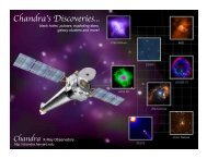 Chandra's Discoveries... - Chandra X-ray Observatory