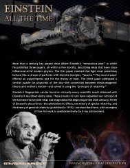 Einstein All The Time (PDF) - Chandra X-ray Observatory