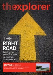 The Road Less Travelled - Aramex