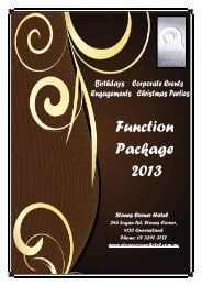 Function Package 2013