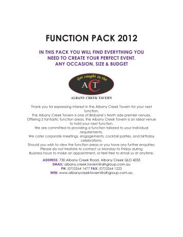 FUNCTION PACK 2012