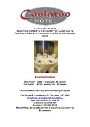 Half Room $220 – seating for 70 people Full Room $330 – seating ...