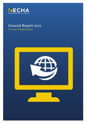 General Report 2011 - ECHA - Europa