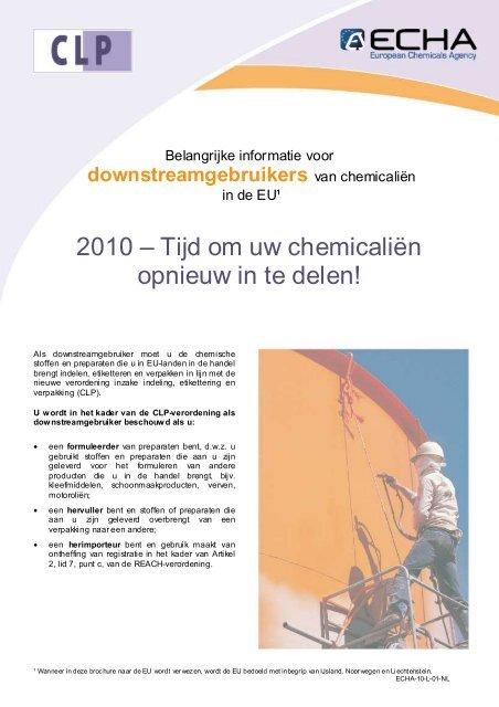CLP DU_nl - ECHA - Europa