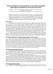 Perceptual Supports for Sensemaking: A Case Study Using Multi ...