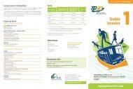 Guide horaire 1 - MRC de La Jacques-Cartier