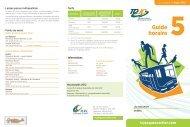 Guide horaire 5 - MRC de La Jacques-Cartier