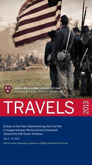 Echoes of the Past - Harvard Alumni - Harvard University