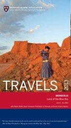 Trip Brochure - Harvard Alumni - Harvard University