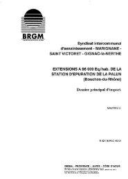 Syndicat intercommunal d'assainissement ... - InfoTerre - brgm