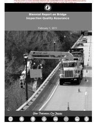 Biennial Report on Bridge Inspection Quality Assurance - Minnesota ...