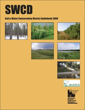 Soil & Water Conservation District Guidebook 2008 - Minnesota ...