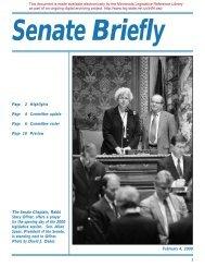 Committee update - Minnesota State Legislature