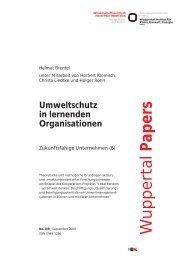WP109.pdf - Wuppertal Institut