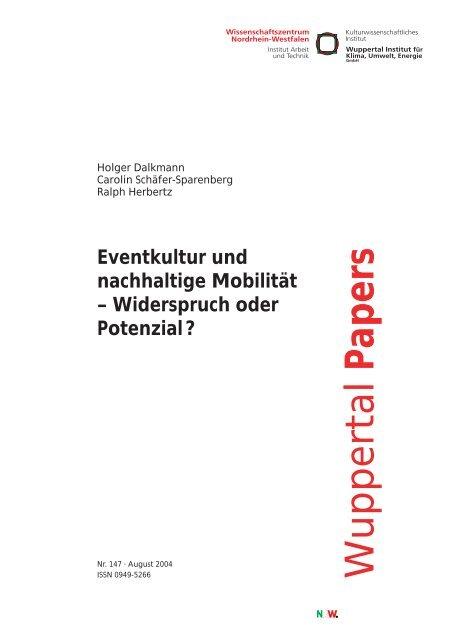 WP147.pdf - Wuppertal Institut