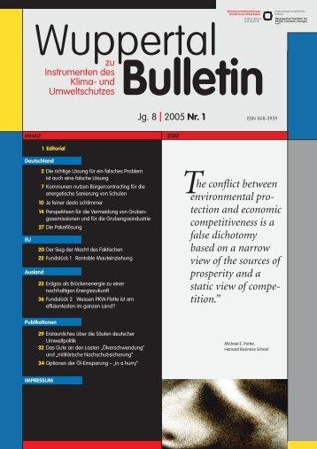 WB_2005-1.pdf - Wuppertal Institut