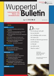 WB_2003-2.pdf - Wuppertal Institut
