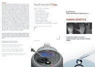 HUMAN GENETICS - BioNova