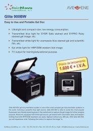 Glite 900BW Easy to Use and Portable Gel Doc - BioNova