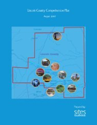 Lincoln County Comprehensive Plan 1