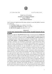 Scarica l'ordinanza del gip di Napoli - Corriere del Mezzogiorno