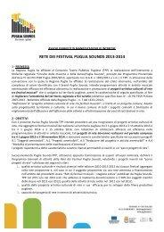 rete dei festival puglia sounds 2013-‐2014 - Corriere del Mezzogiorno