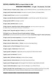ESTATE A NAPOLI 2012 un mare di idee in città - Corriere del ...