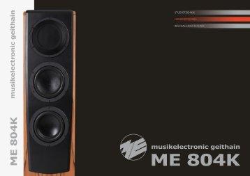 ME 804K Prospekt - ME Geithain