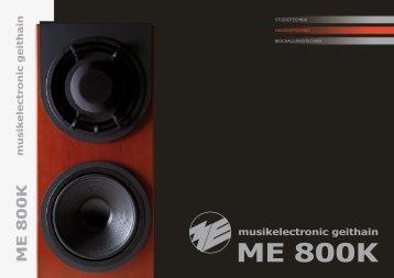 ME800K Prospekt - ME Geithain