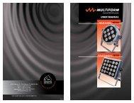 Multispot 1009 Multibeam 1018 - Apollo Design Technology