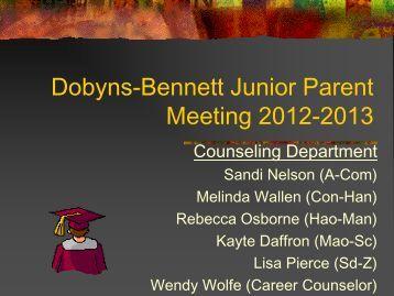 required - Dobyns-Bennett High School - Website